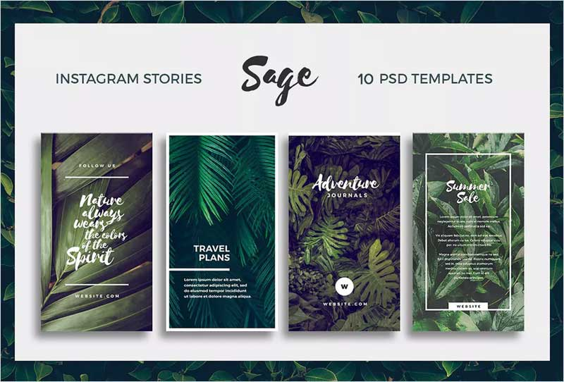 Sage---Instagram-Story-Templates