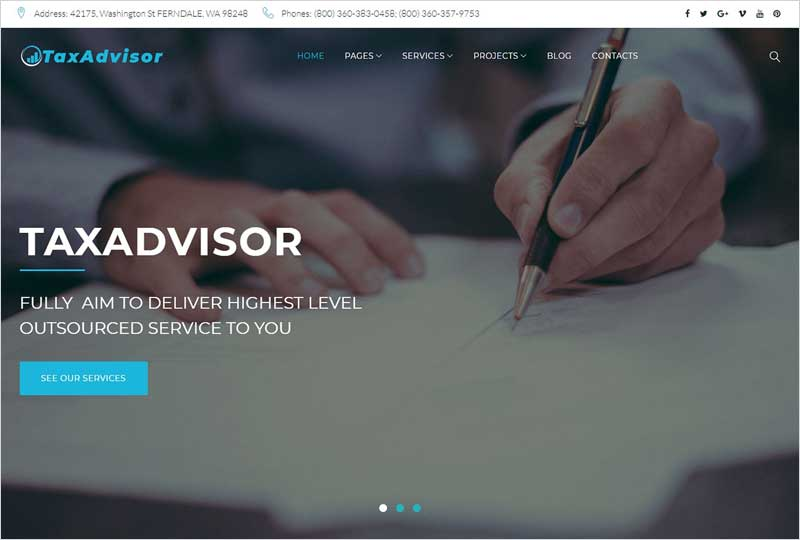 TaxAdvisor-Financial-WordPress-Theme