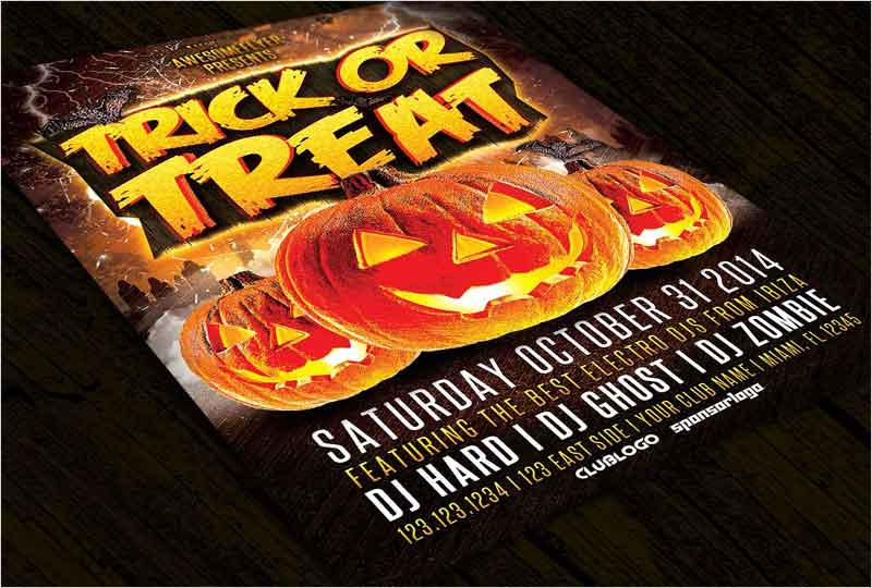 Trick-or-Treat-Halloween-Party-Flyer