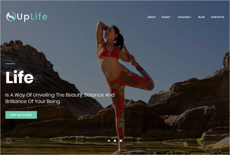 UpLife---Holistic-WordPress-Theme