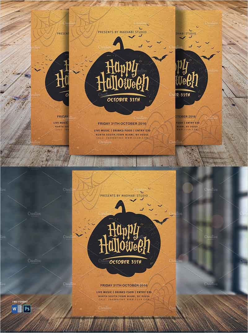 Vintage-Halloween-Party-Flyer-V5