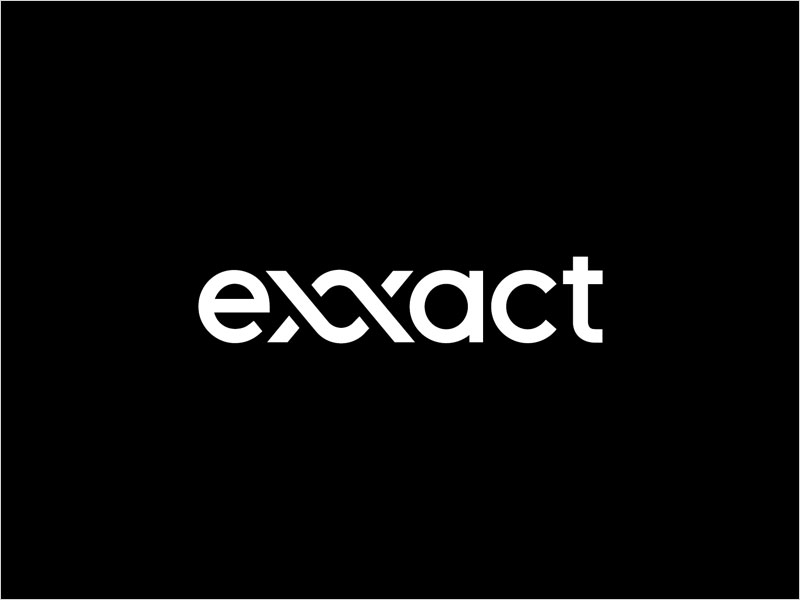 Exxact-Logotype-Wordmark