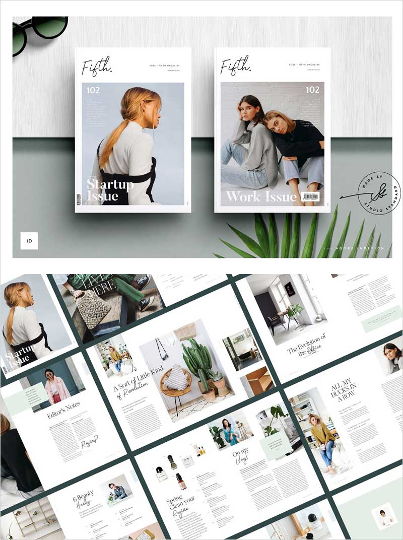 FIFTH-Magazine-Template