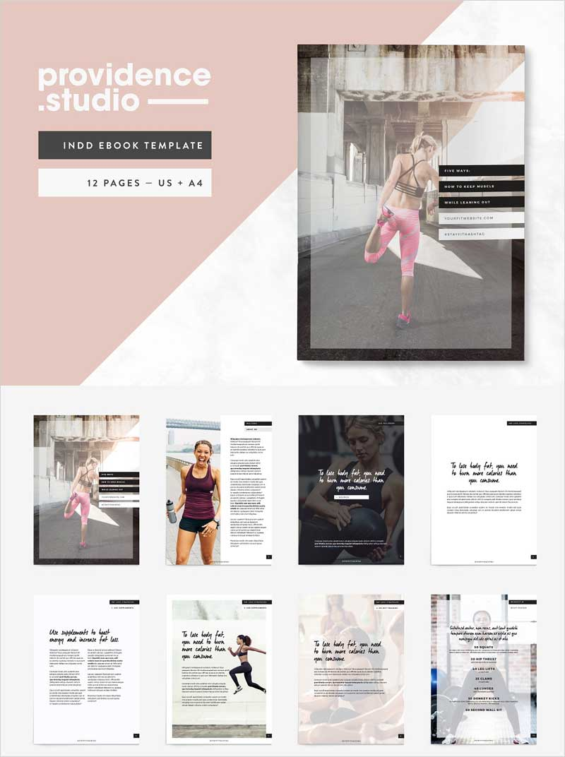 Fitness-Modern-Ebook-Template