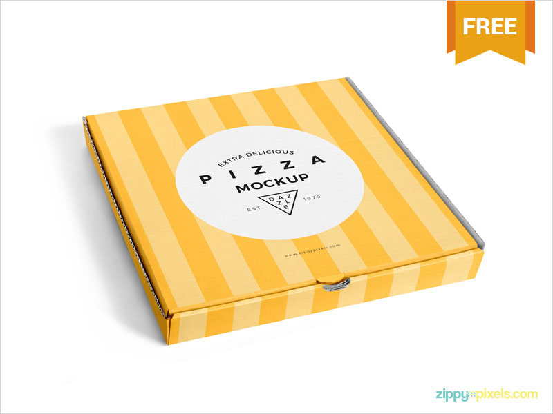 Free-Delicious-Pizza-Box-Mockup
