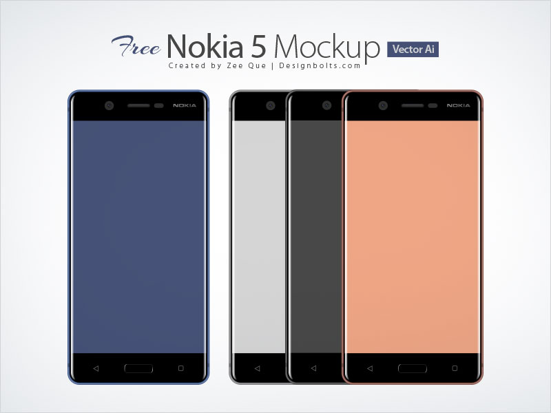 Free-Nokia-5-Android-Smartphone-Mockup-In-Ai-&-Eps-Format