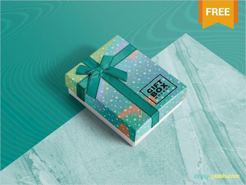 Free-Photorealistic-Gift-Box-Mockup