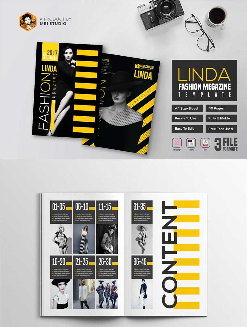 Linda-Fashion-Megazine-Template