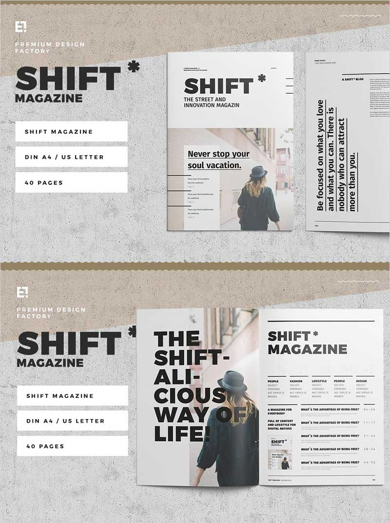 Shift-Magazine