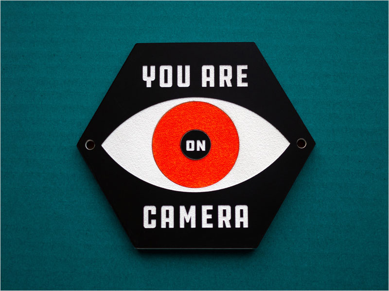 You-Are-On-Camera-laser-cut-sign