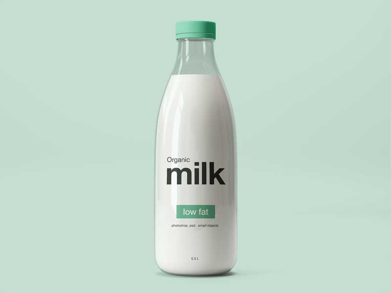 Milk-Bottle-Mockup-(PSD)