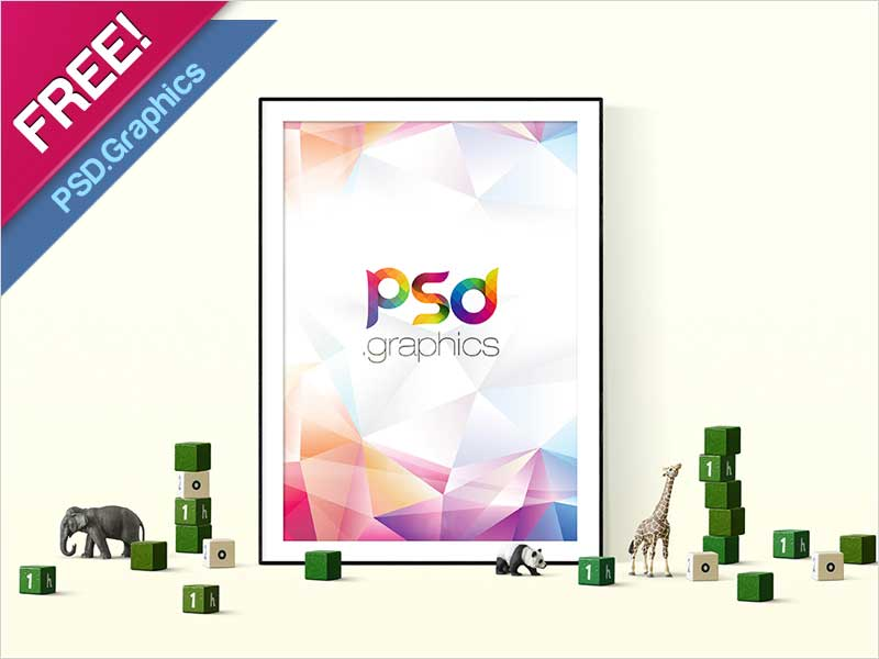Poster-Mockup-Template-Free-PSD