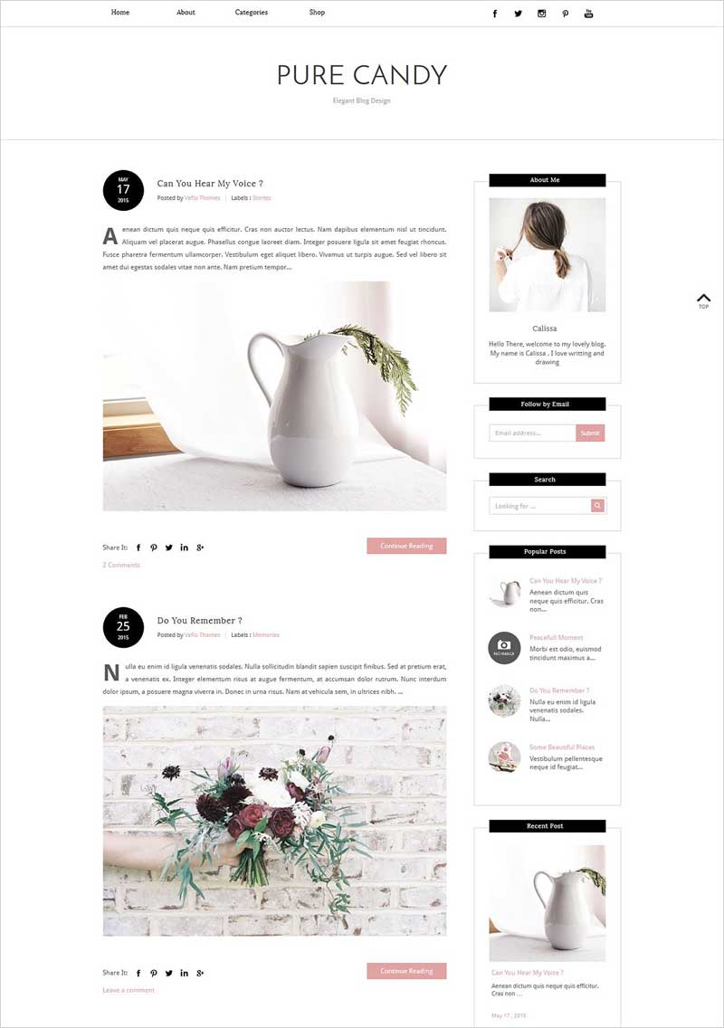 Blogger-Template---PURE-CANDY