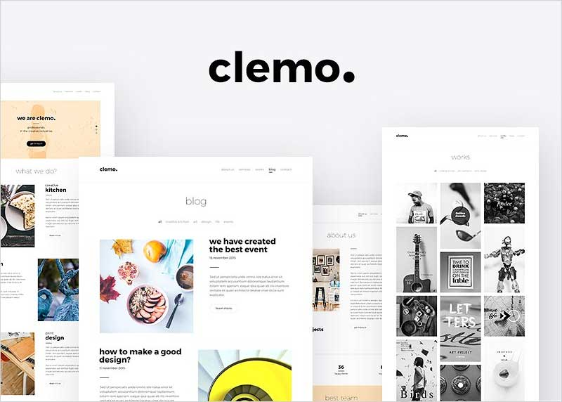 Clemo---Multipurpose-PSD-Template