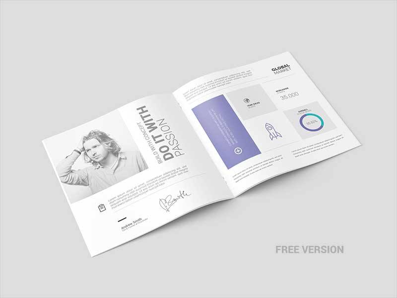 Free-Square-Brochure-Catalog-Mock-up