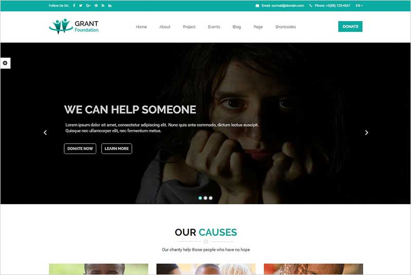 Grant-Foundation-–-Charity-Template