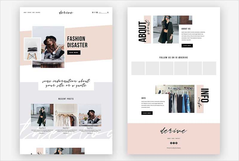 Squarespace-Template-Derive