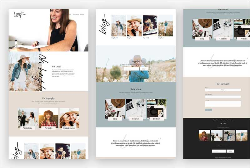 Squarespace-Template-Lacy