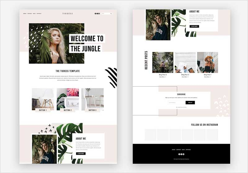 Squarespace-Template-Tigress