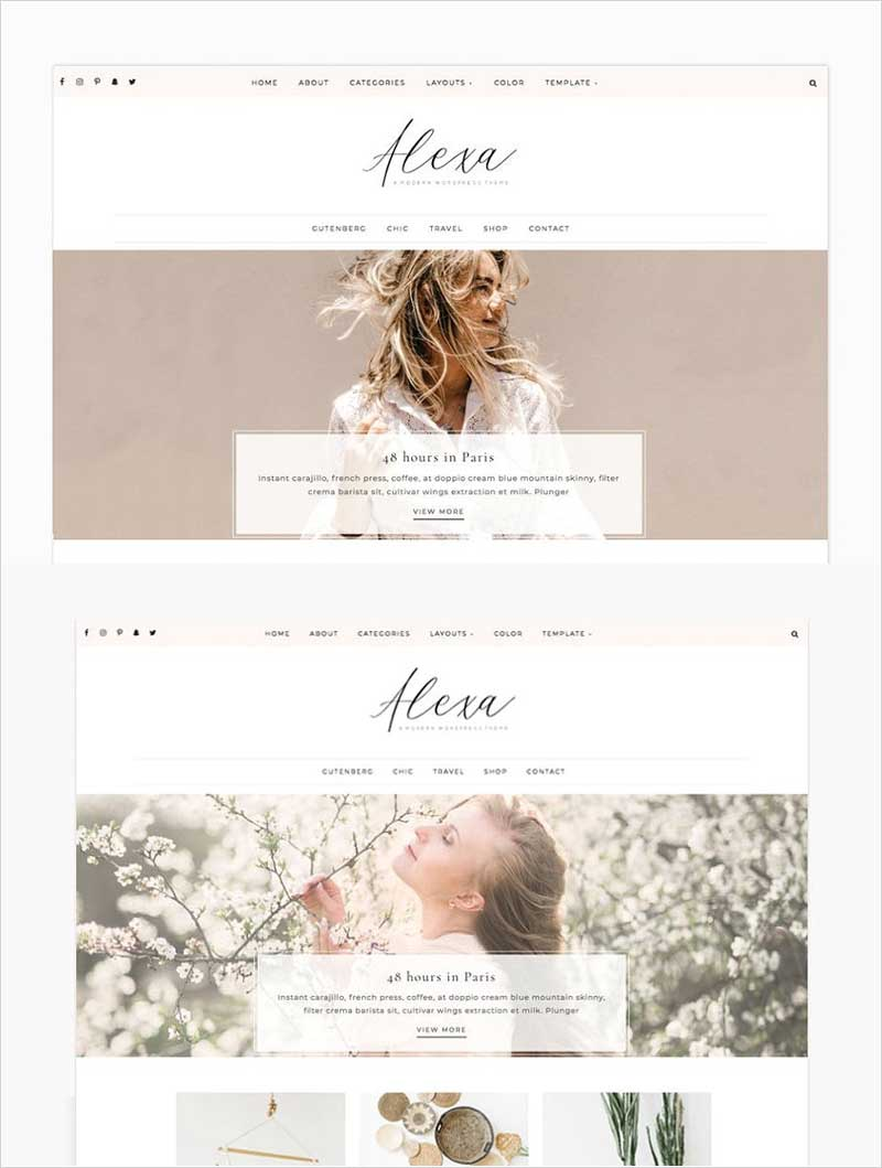 Alexa---Wordpress-Theme