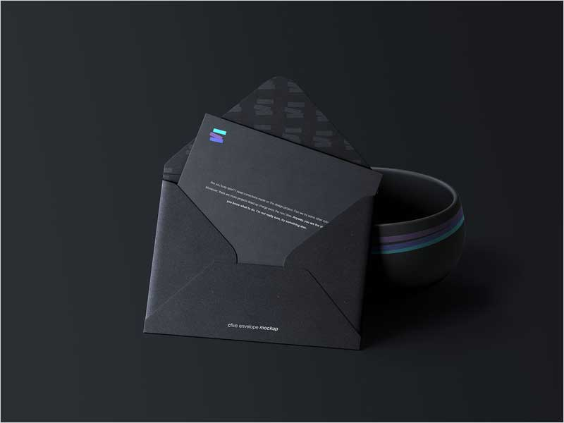 C5-Envelope-Mockup-Black