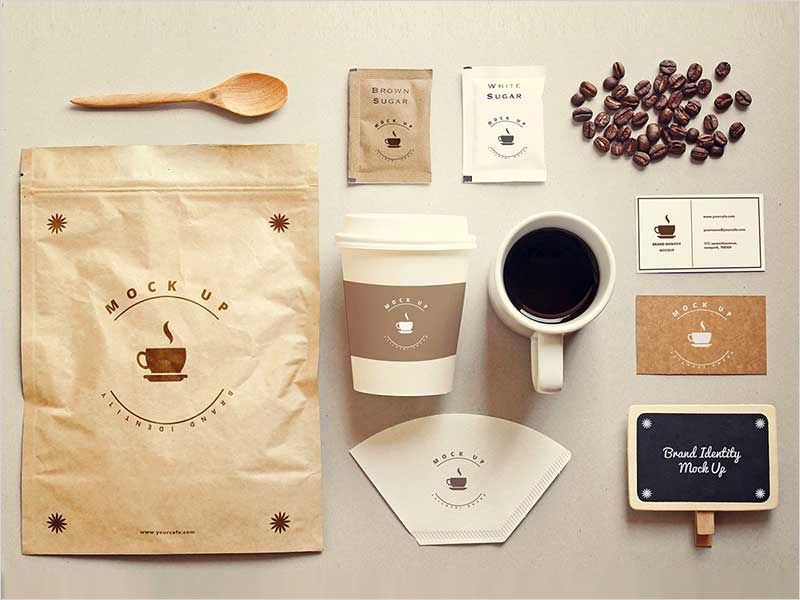 Coffee-stationery-mock-up-Free-Psd