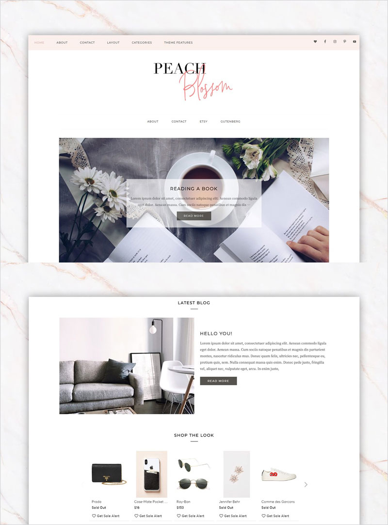 Feminine-Business-Wordpress-Theme