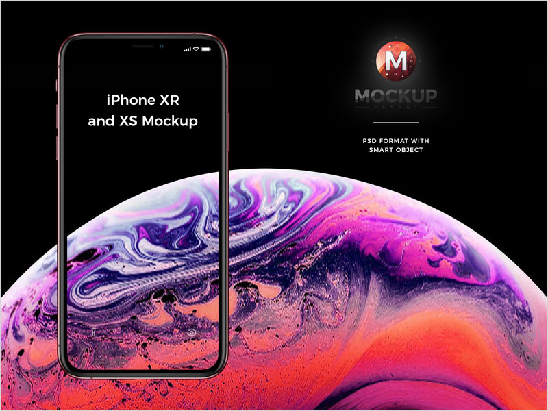 Free-Apple-New-iPhone-Xr-Mockup-and-iPhone-Xs-Mockup-PSD-2018