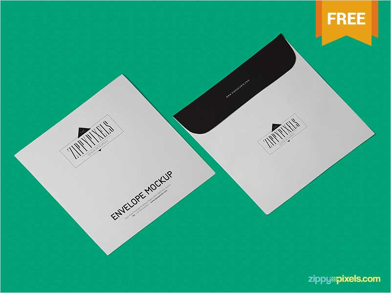 Free-Envelope-Mockup-PSD-In-Isometric-View