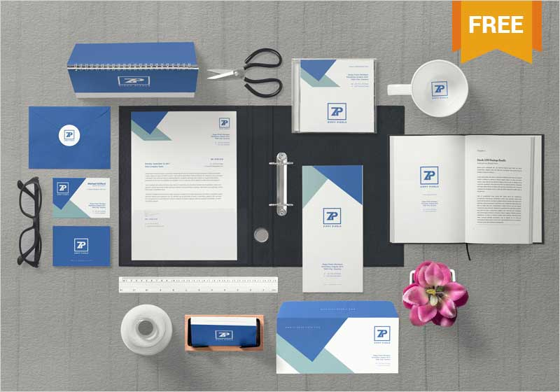 Free-Marvelous-Corporate-Identity-Mockup-Scene