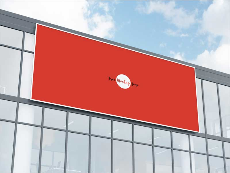 Free-Office-Building-Facade-Billboard-Mockup-Psd