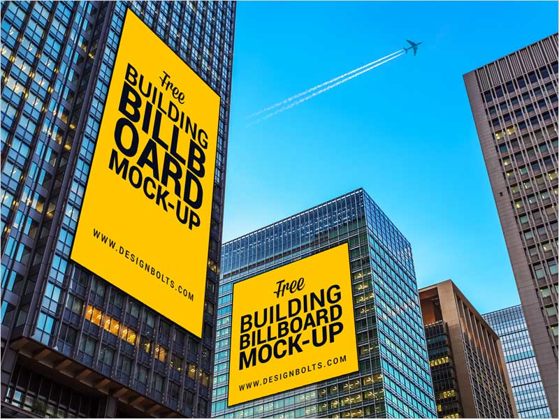 Free-Outdoor-Building-Advertising-Billboard-Mock-up-PSD