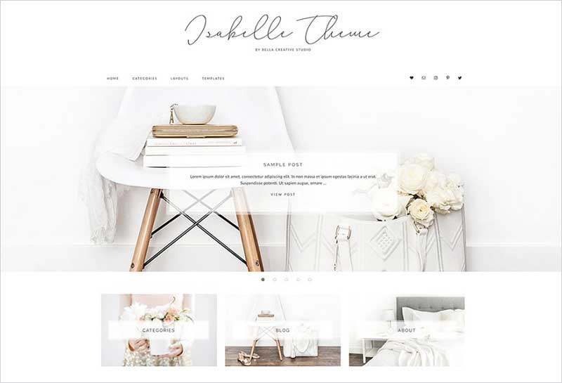 Isabelle---WordPress-Theme