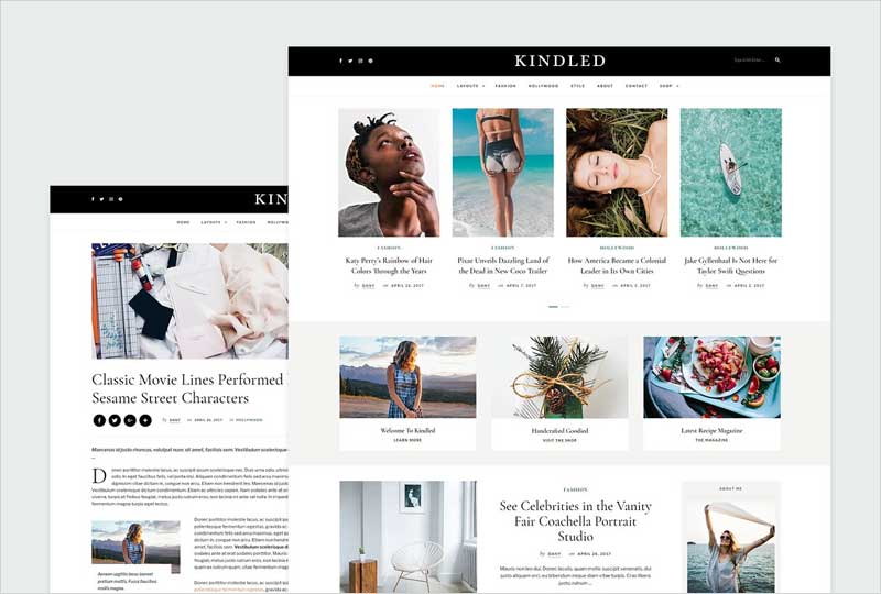 Kindled---Blog-WordPress-Theme