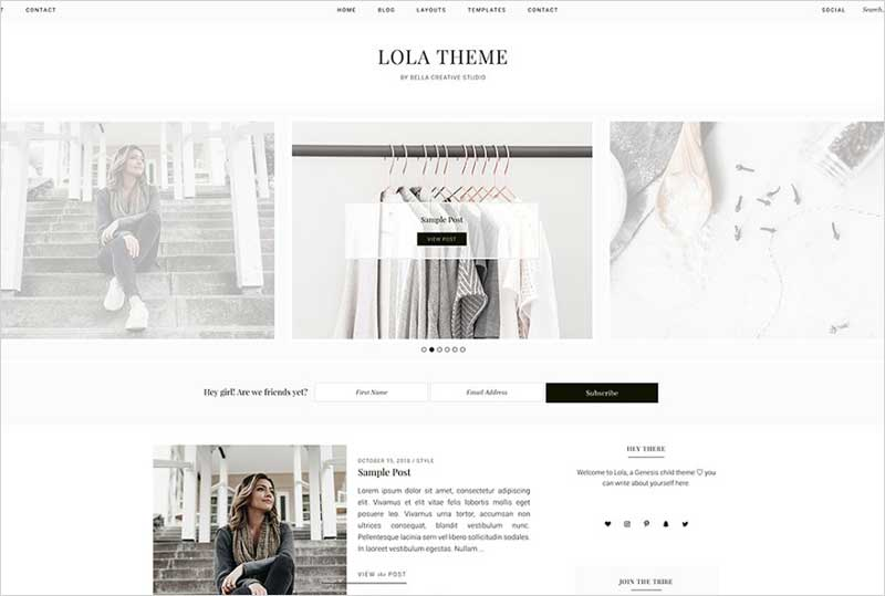 Lola---WordPress-Theme