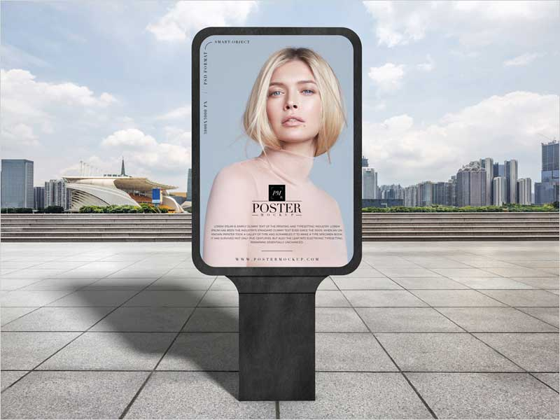 Modern-Outdoor-Advertisement-Poster-Mockup-Free