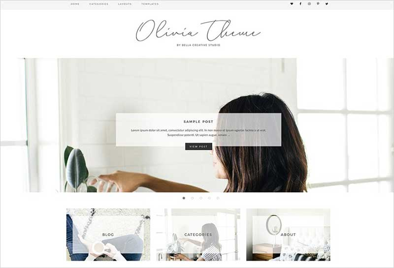 Olivia---WordPress-Theme