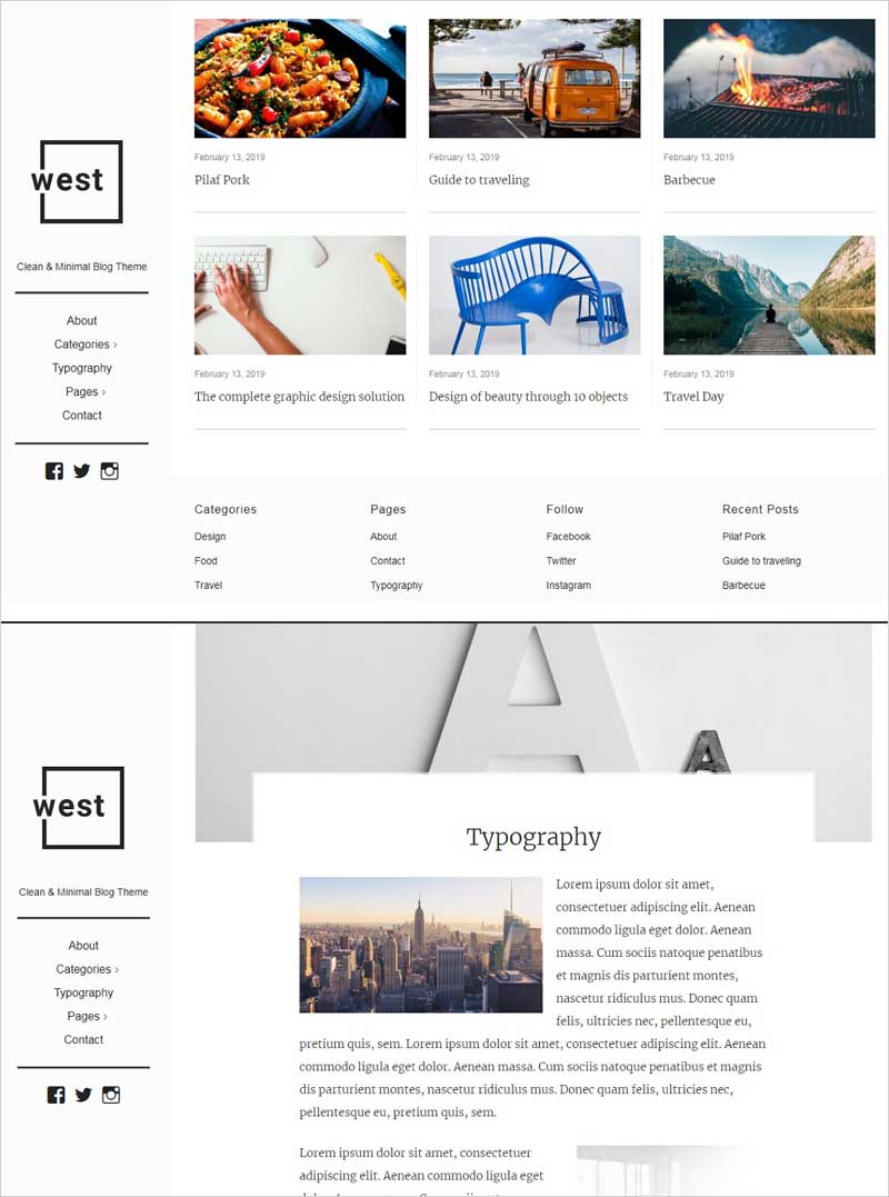 One-West---Clean-&-Minimal-WP-Theme