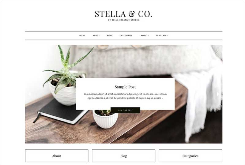 Stella-&-Co.---WordPress-Theme