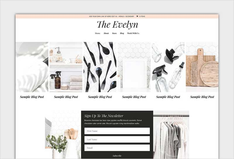 The-Evelyn-Divi-Child-Blog-Theme