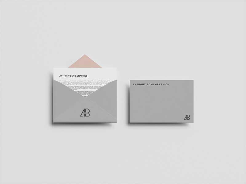 Top-View-Envelope-Mockup