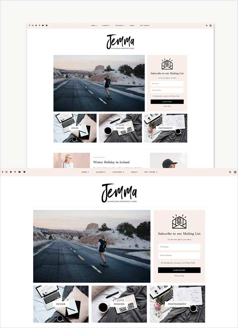WordPress-Theme,-Feminine,-Jemma