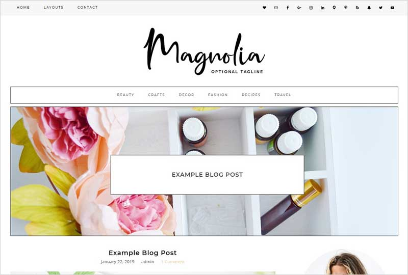 Wordpress-Theme-Magnolia