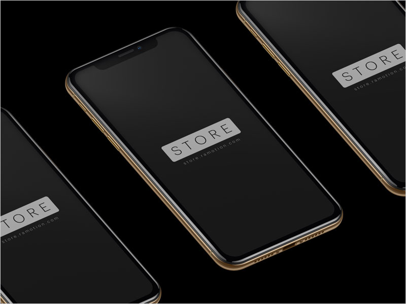 iPhone-XS-Gold-Mockups
