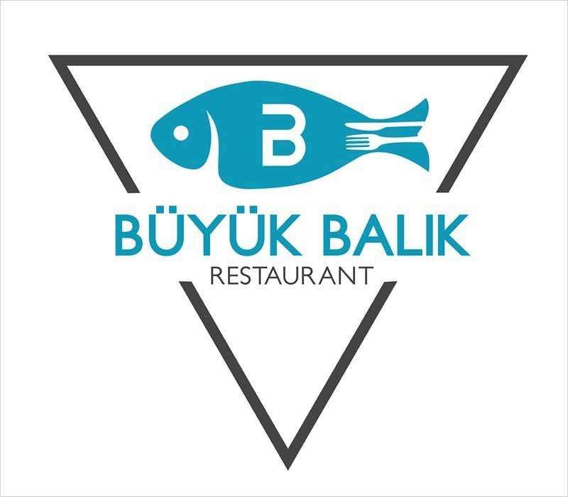 Balık-Restaurant-Logo-Desing