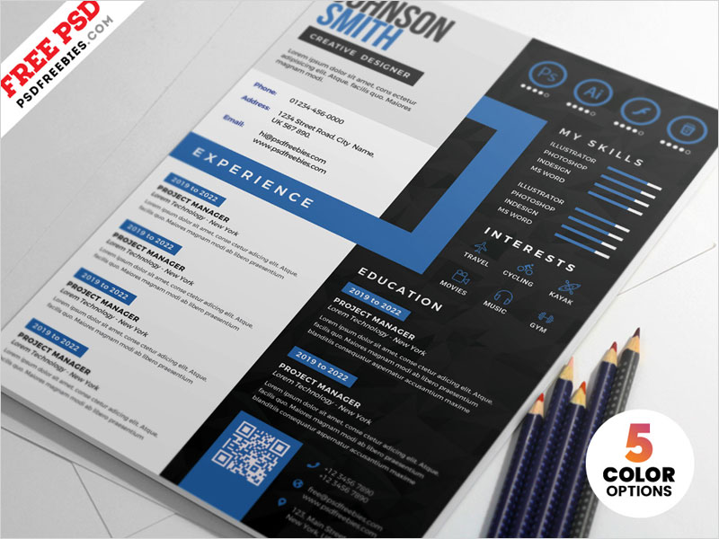 Creative-CV-Resume-Design-PSD-Templates