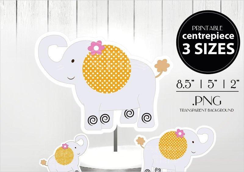 Cute-Elephant-Centrepiece-CakeTopper