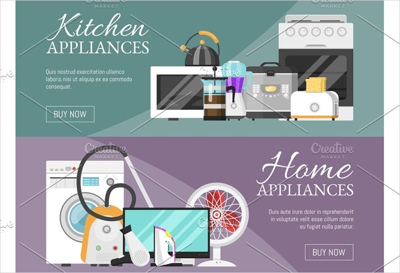 Electronic-household-appliances