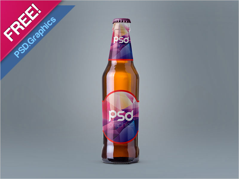 Free-Beer-Bottle-Mockup-PSD