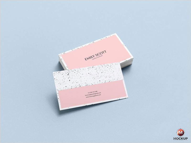 Free-Brand-Business-Card-Mockup-Psd1
